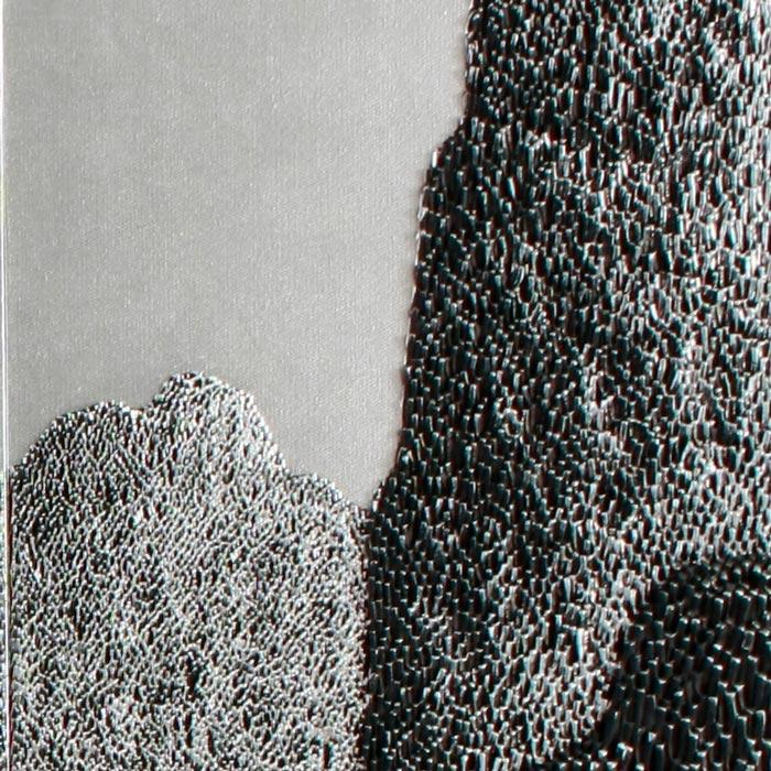 Saenkom Chansrinual - Thai Art - Grand Mountain Silver 04 - 160 x 100 - 30 - 04