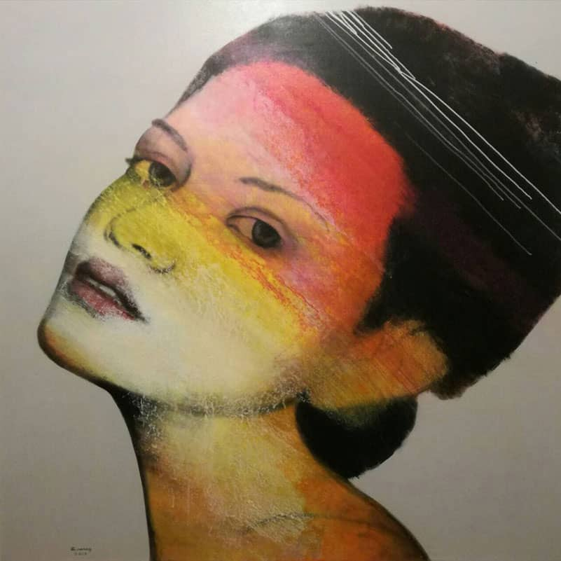 Bird - Woman Portrait 20 - 150 X 150 - 28