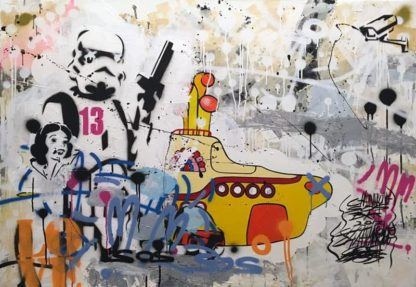 SOS - Painting 17 - 140 x 100 - 15