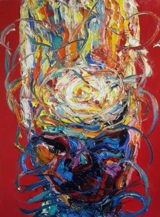 Worapol - Painting 28 - 90 x 120 - 60