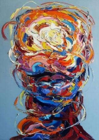 Worapol - Painting 29 - 90 x 120 - 60