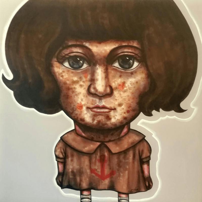 Age - Portrait 51 - 100 x 100 - 30