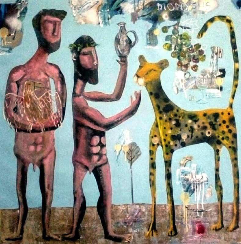 Kitti - Dionysus - 100 x 100 - 9-5