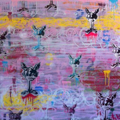 Kongsak - Painting 09 - 130 x 130 - 20
