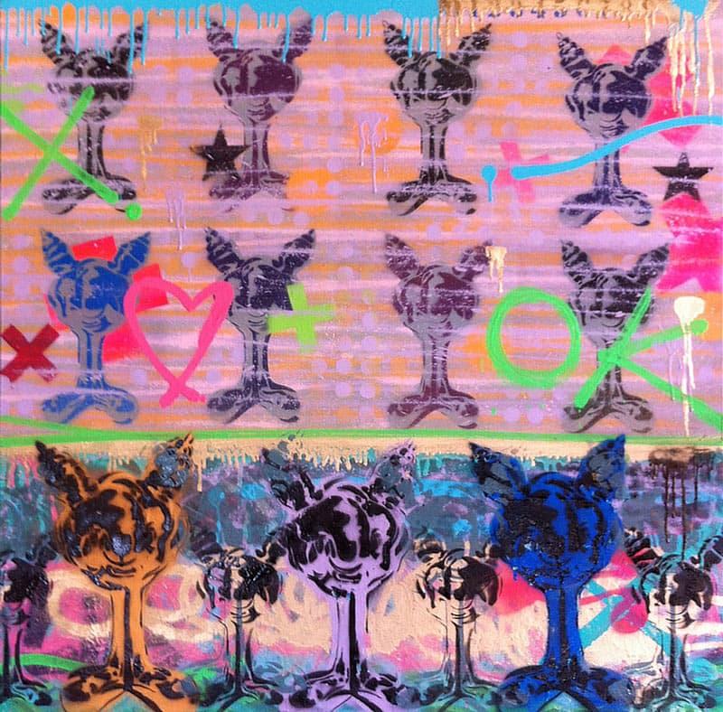 Kongsak - Painting 10 - 100 x 100 - 15