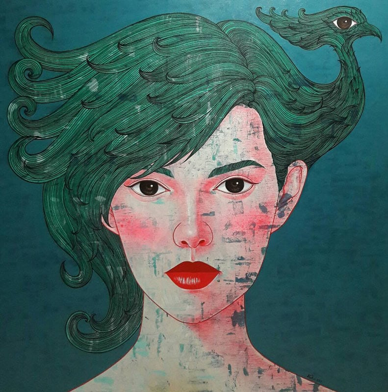 Vatcharapong - Woman Portrait 15 - 150 x 150 - 25
