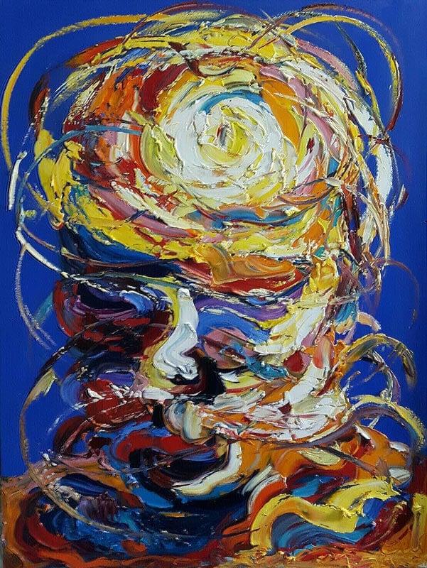 Worapol - Painting 30 - 90 x 120 - 60
