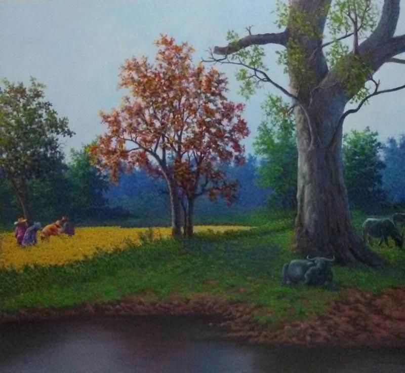 Anurak - Farmers 40 - 130 x 120 - 20