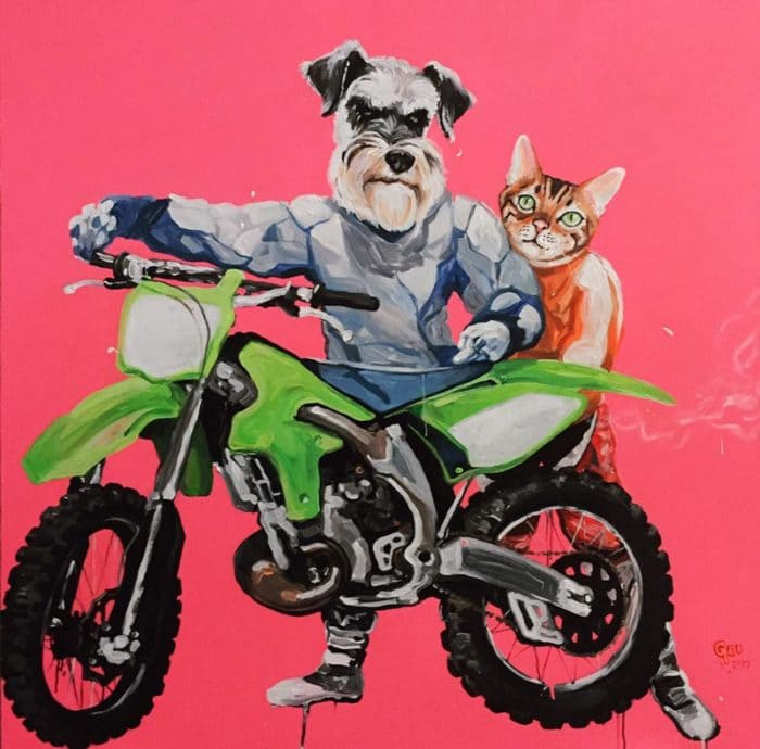 Gee - The Motocross - 130 x 130 - 35