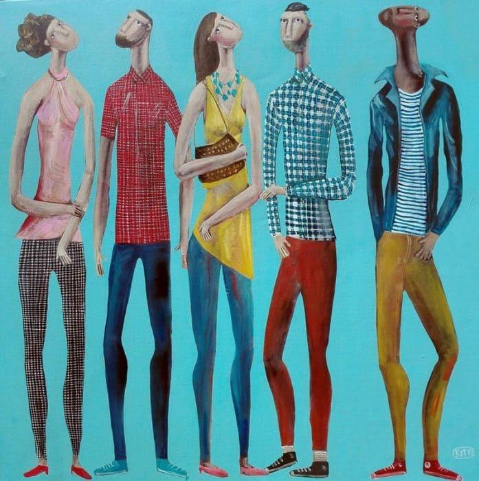 Kitti - Saturday Painting - 100 x 100 - 8-5