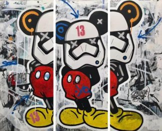 SOS - Painting 21 - 3 x 50 cm x 120 cm - 20