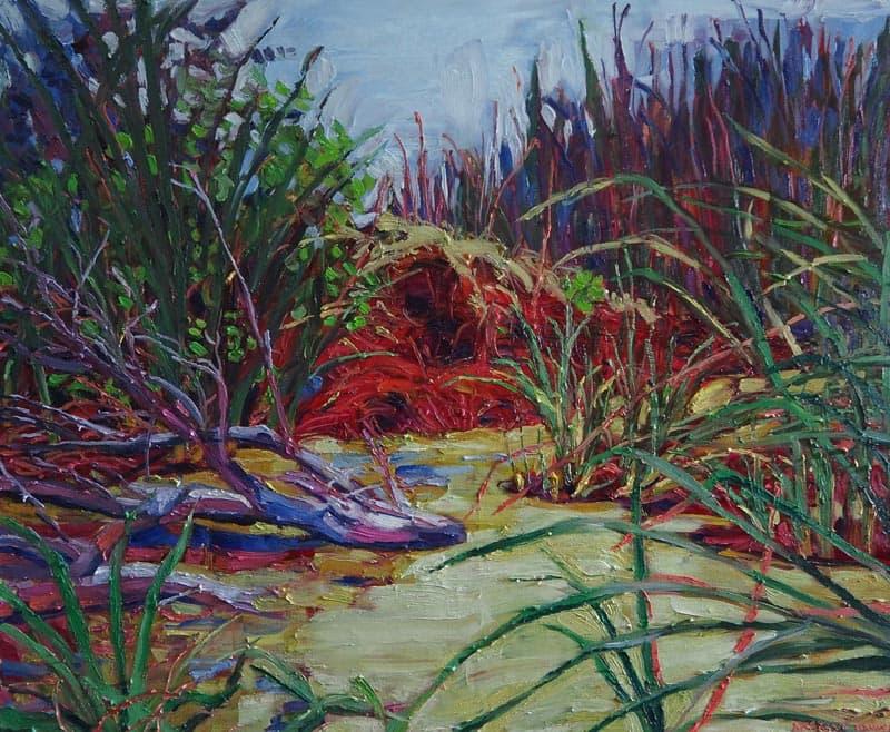 Apichaya - Duckweed - 120 x 100 - 15