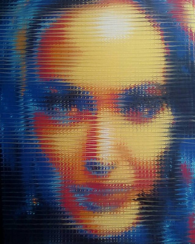 Boat - Portrait Angelina Jolie - 80 x 100 - 9
