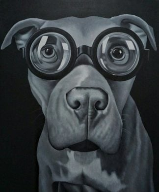 Den - Another Smart Dog - 100 x 120 - 15