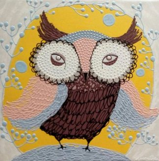 Kamontip - Owl 17 - 50 x 50 - 3-5
