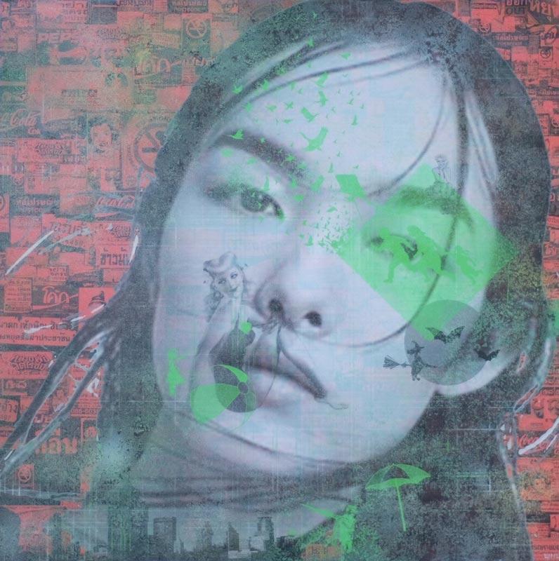 Kee - Pop Art 02 - 80 x 80 - 15
