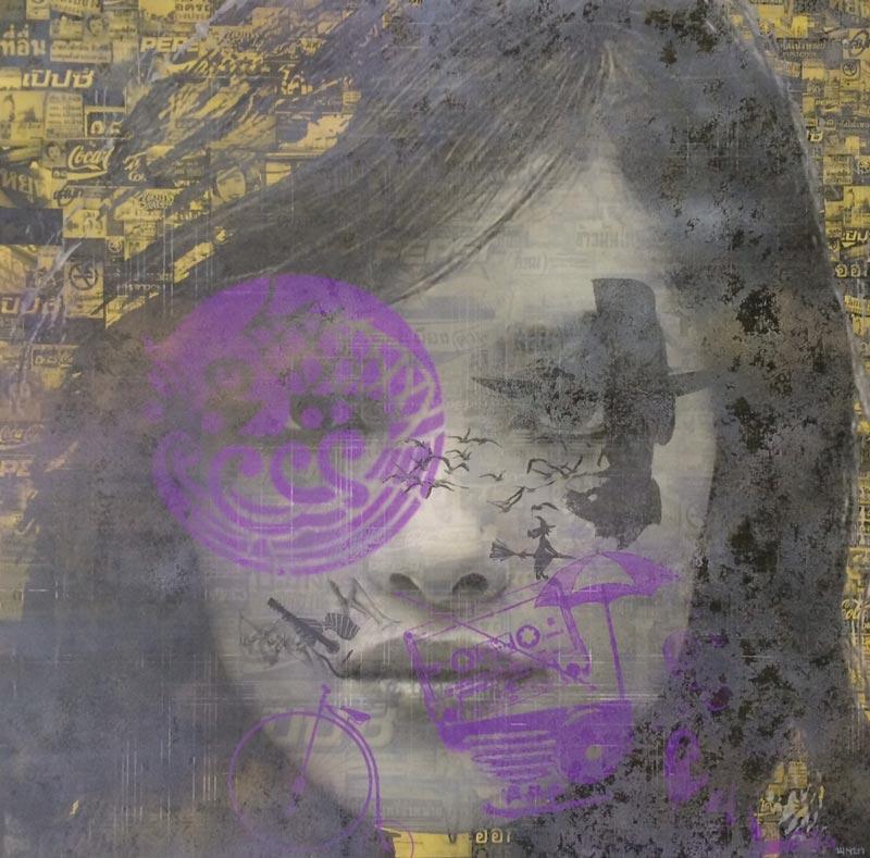 Kee - Pop Art 04 - 80 x 80 - 15