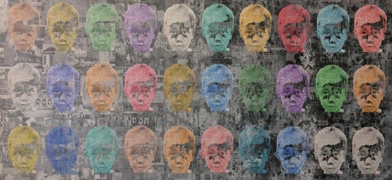 Kee - Pop Art 08 - 150 x 70 - 25