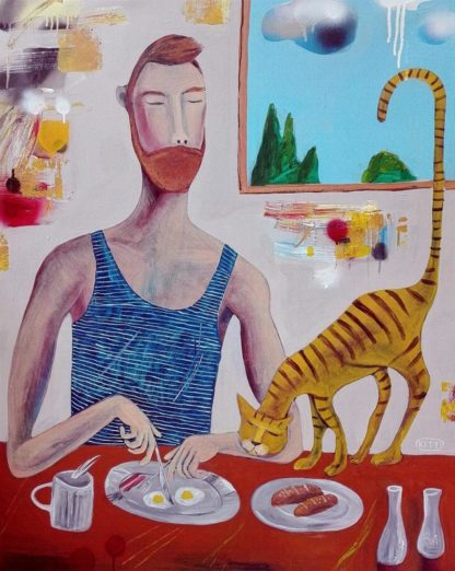 Kitti - Breakfast - 80 x 100 - 7-5