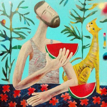 Kitti - Summer - 100 x 100 - 8-5