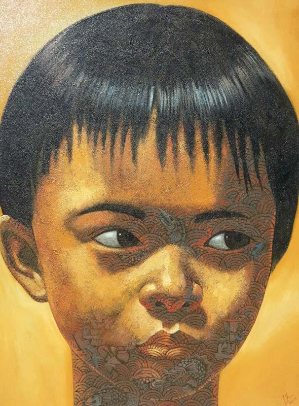 Pramaul - Boy 02 -90 x 120 - 35