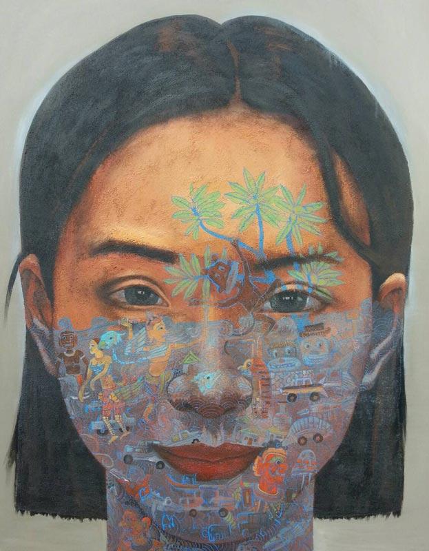 Pramaul - Woman 02 -135 x 165 - 80