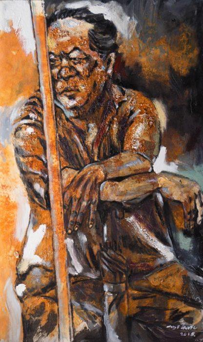Sarawut - Old man - 90 x 150 - 30