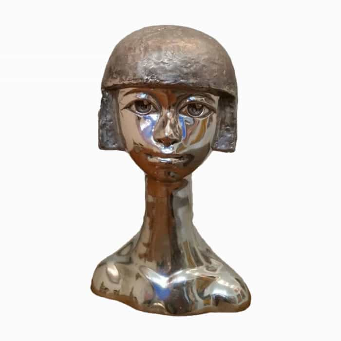 Sculpture For Sale - Stainless Steel - Age 01 - Front