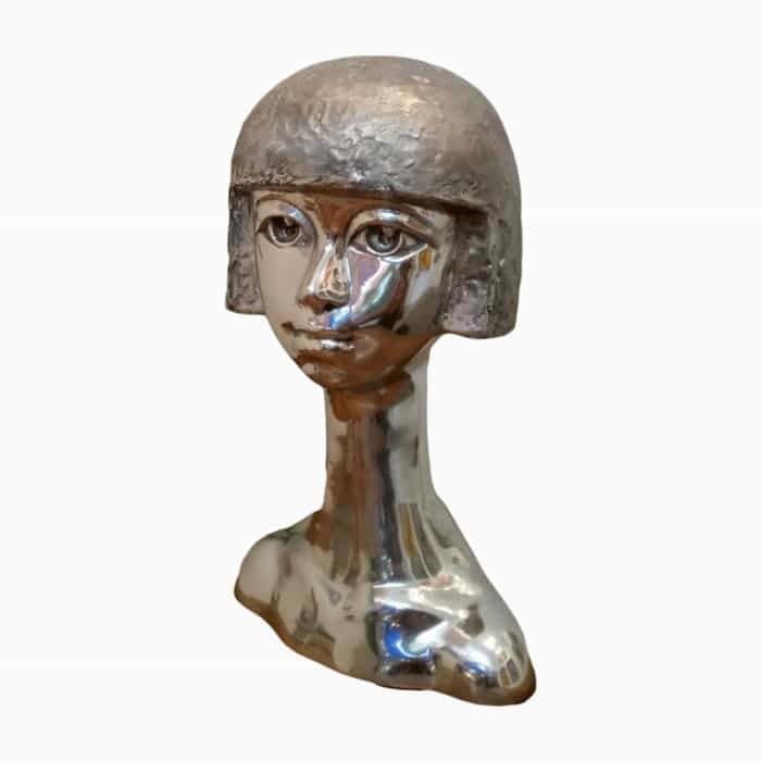 Sculpture For Sale - Stainless Steel - Age 02 - 45 degree