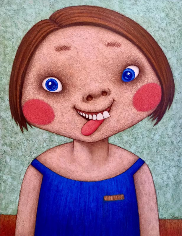 Vipanee - Crazy Girl - 140 x 180 - 65
