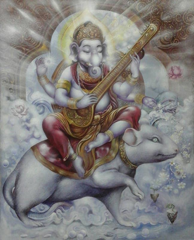 Yun - Ganesha - 40 x 50 - 15