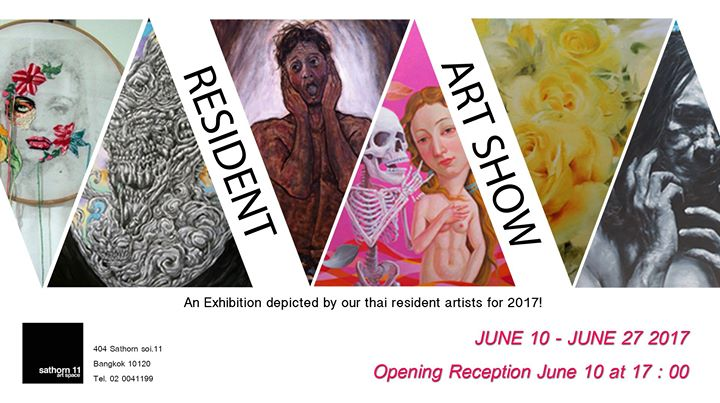 Sathorn 11 art space - Resident Art Show 2017