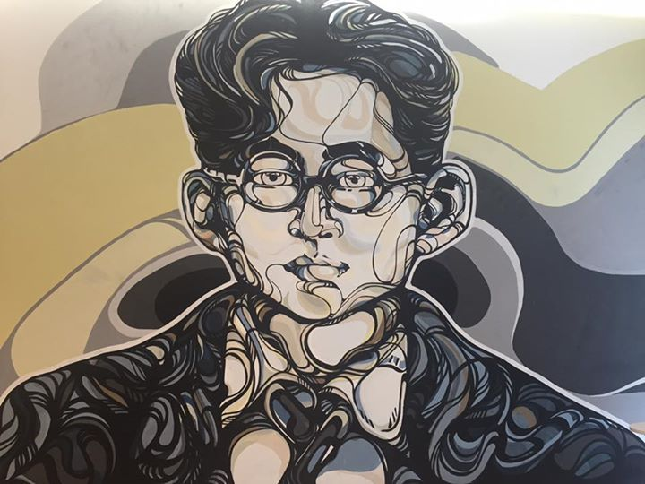 SleepBKK - Live mural painting