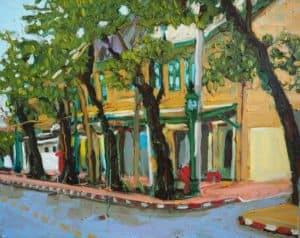 Apichaya - Din Sor Road - 50 x 40 - 7