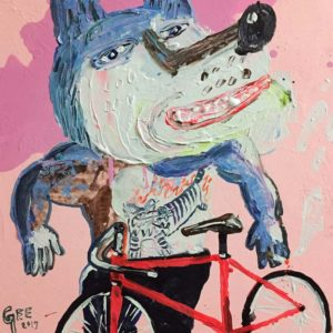 Gee - Smile Rider - 45 x 45 - 6