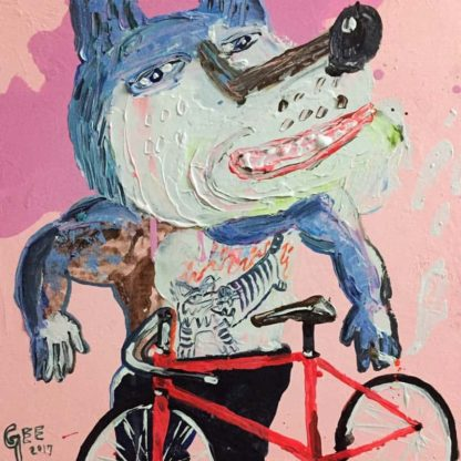 Gee - Smile Rider - 45 x 45 - 6