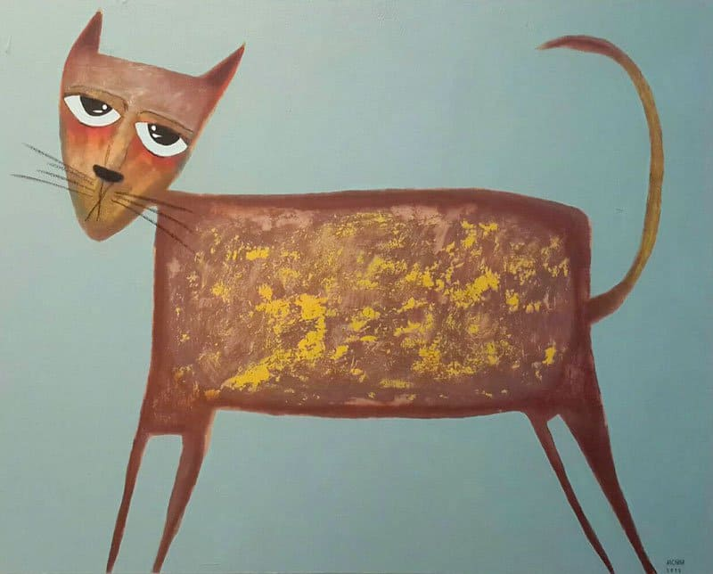 Ja - Mix Cat - 100 x 80 - 10