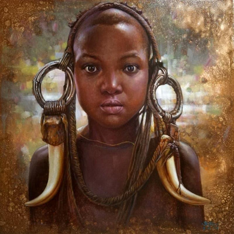 Nithat - Portrait 03 - 90 x 105 - 15