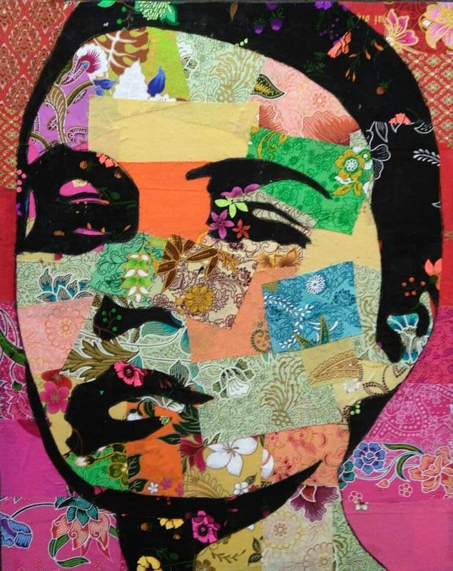 Tanawat - Small Collage Portrait 01 - 40 x 50 - 2-5
