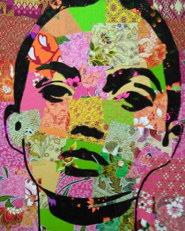 Tanawat - Small Collage Portrait 03 - 40 x 50 - 2-5
