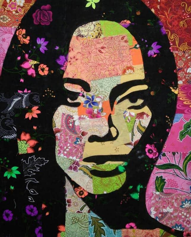 Tanawat - Small Collage Portrait 05 - 40 x 50 - 2-5