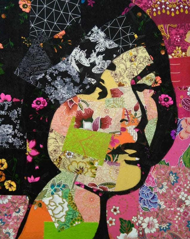 Tanawat - Small Collage Portrait 09 - 40 x 50 - 2-5