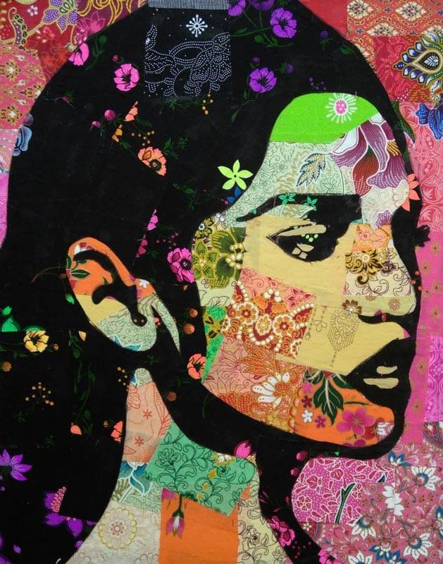 Tanawat - Small Collage Portrait 10 - 40 x 50 - 2-5