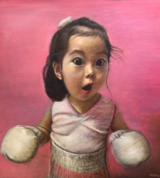 Thitithep - Boxing Girl 02 - 140 x 140 - 48