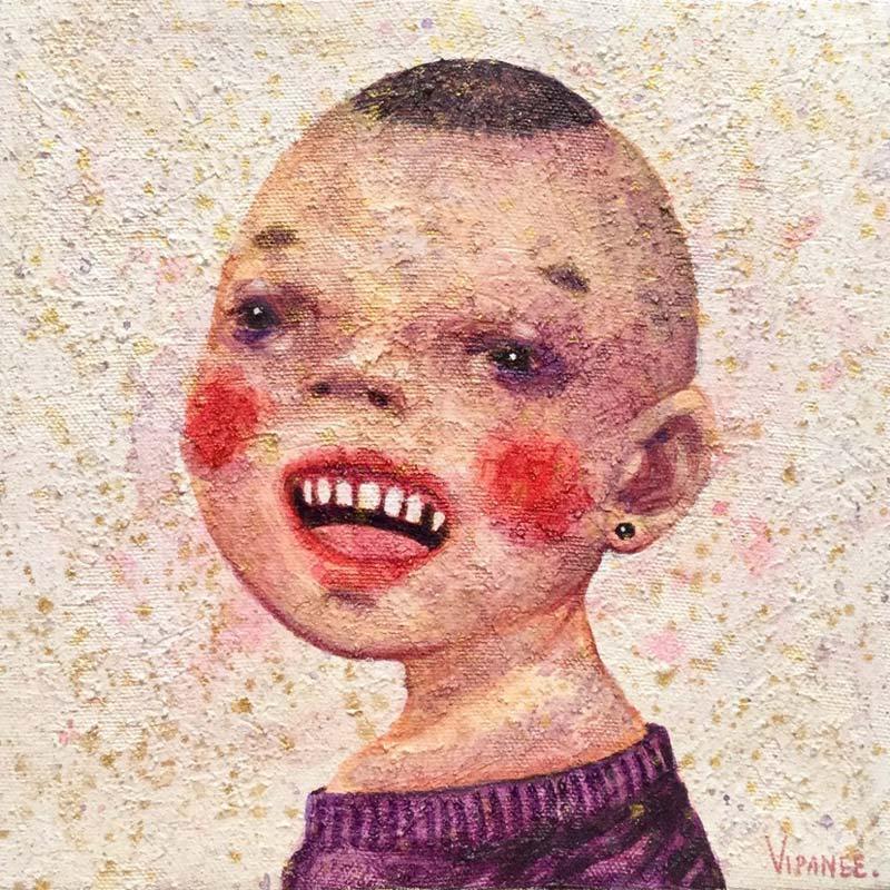 Vipanee - Small Portrait 02 - 20 x 20 - 2