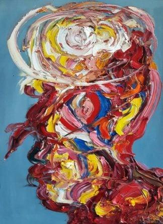 Worapol - Painting 32 - 90 x 120 - 60