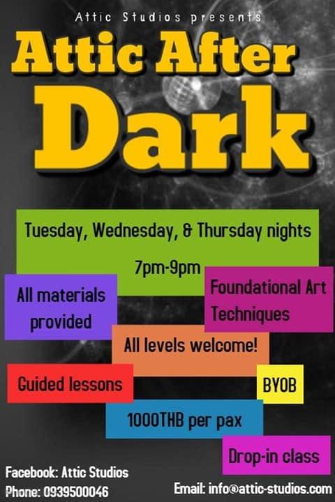 Attic Studios - Attic After Dark: Life Drawing Workshop