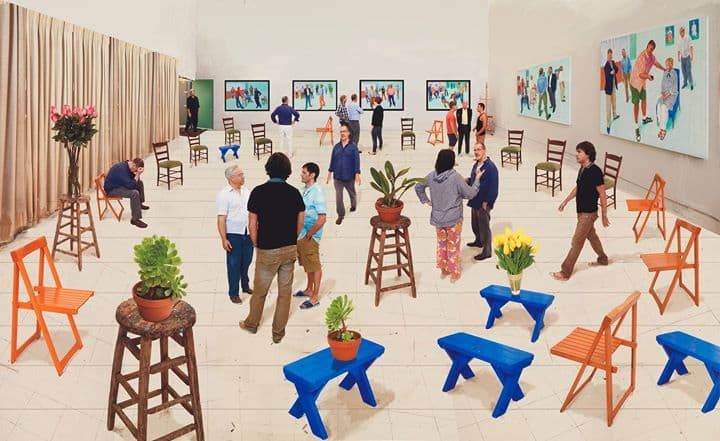 STPI - VIP Opening Night of David Hockney: A Matter of Perspective