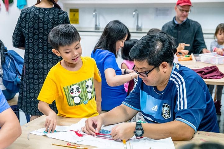 National Gallery Singapore - Family Art Workshop: From Rochor to Kallang