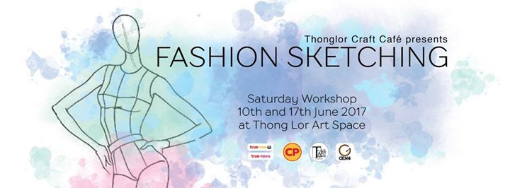 Thong Lor Art Space - Thonglor Craft Café - Fashion Sketching Workshop